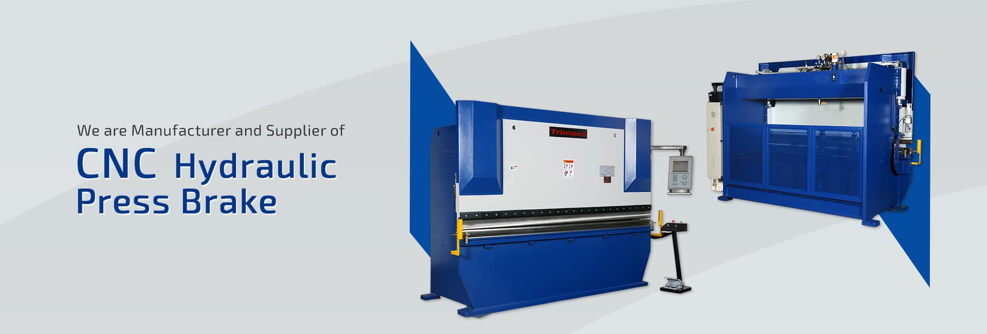 CNC Hydraulic Press Brake Manufacturer, Supplier and Exporter in Ahmedabad, Gujarat, India